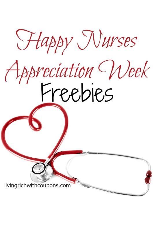 National nurses week freebies 2018