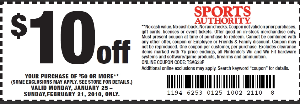 Academy sports 10 off coupon code