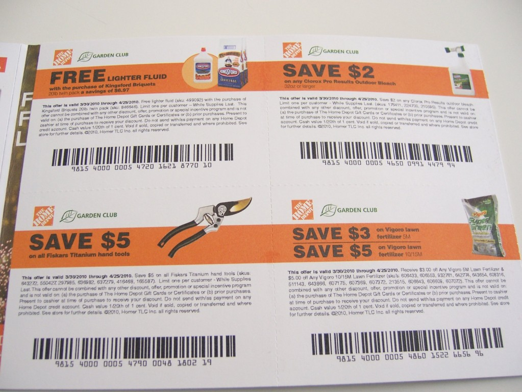 Home Depot Coupons: Kingsford, Fiskar Tools, Vigoro Fertilizer ...