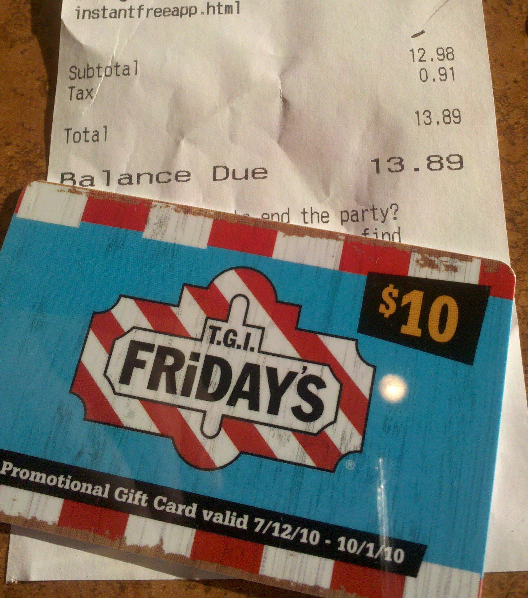 Tgif coupons india
