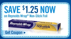 Reynolds Wrap Coupons Deal on Amazon