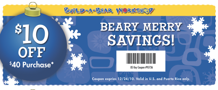 photograph regarding Build a Bear Coupons Printable named Create a undertake discount codes 10 off 30 : I9 athletics coupon