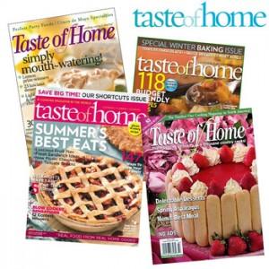 Taste of Home Magazine Deal