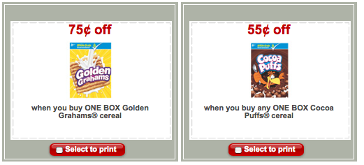 target coupons 2011. There are a few new coupons on