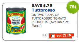 Screen shot 2011 07 08 at 8.49.57 PM New Tuttorosso Coupons = $0.50 at ShopRite