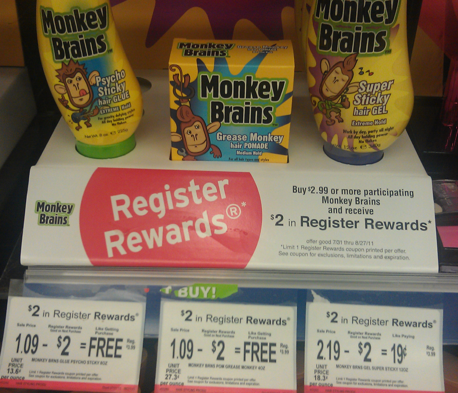 Walgreens Free Monkey Brains Kids Hair Products