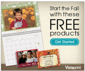 vistaprint fall special 250 free business cards free flip book