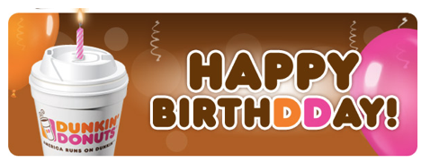 Birthday Giveaway 50 Dunkin Donuts Gift Card 3 Winners