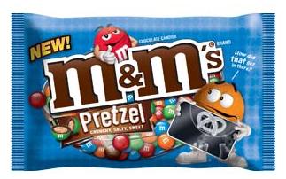 M&M Pretzels