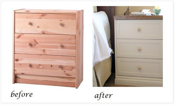 ikea hack beautiful nightstands for 55 from rast dresser living rich with coupons living. Black Bedroom Furniture Sets. Home Design Ideas