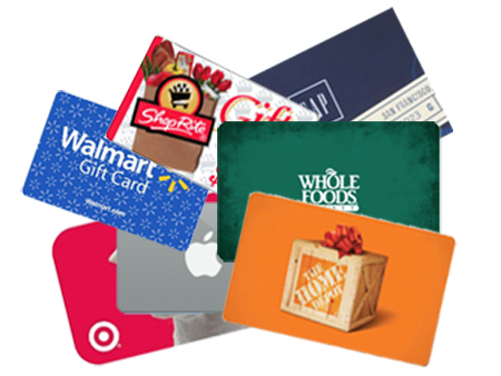 Holiday Gift Card Deals 2013