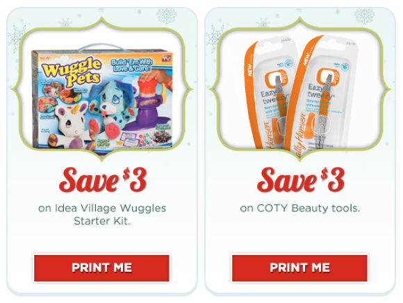 Rite Aid Coupons: Wuggle Pets & COTY Beauty Tools