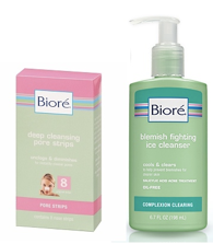Free Sample: Biore Blemish Fighting Ice Cleanser or Pore Strips |--Living Rich With Coupons®