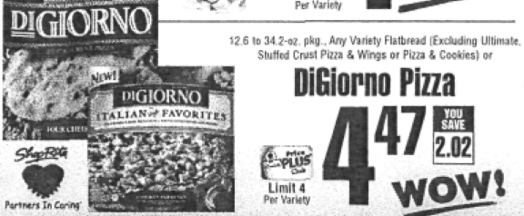 Screen Shot 2012 04 18 at 2.10.25 PM New $1.50/2 DiGiorno Pizza Coupon + ShopRite Deal!