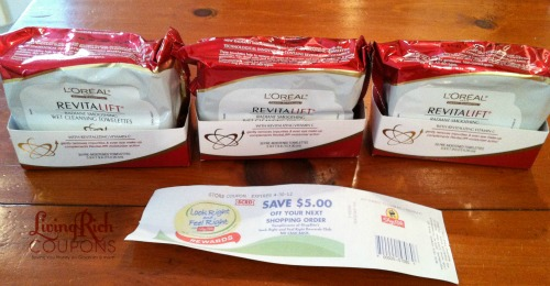 ShopRite: L'Oreal Cleanser Money Maker + My Shopping Trip |--Living Rich With Coupons®