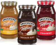 smuckers ice cream topping