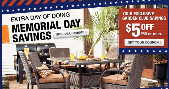 home depot garden club coupons - Home Depot Garden Club