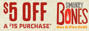 Smokey Bones Coupon