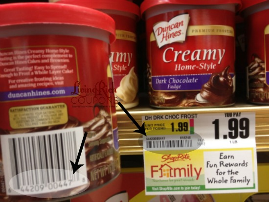 extreme couponing tip  check upc codes with shelf tags