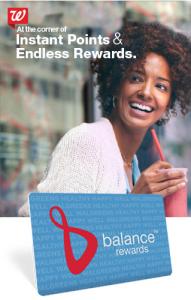 Walgreens Balance Rewards Loyalty Card