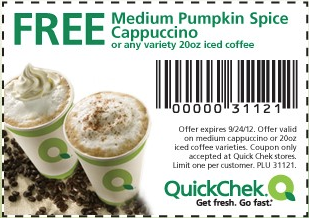 quick chek coupon