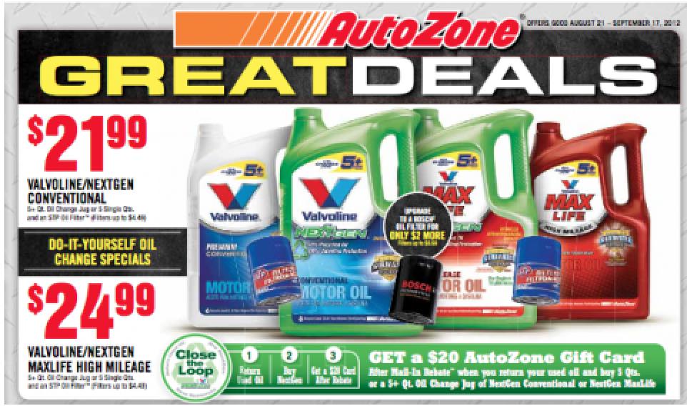 Autozone printable discount coupons