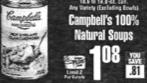 Campbell's Natural Soup coupon