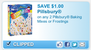 Pillsbury Cake Mix Coupon