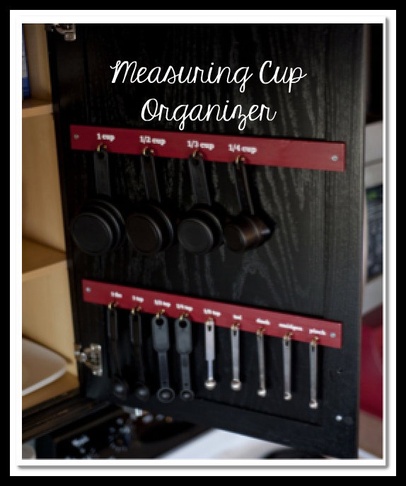 Measuring Spoons Organizer: Do It Yourself Measuring Cup OrganizerLiving Rich With