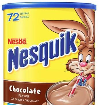 Nestle Nesquik Chocolate Powder Recall