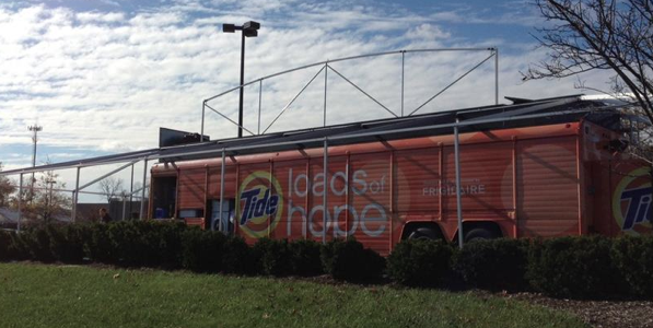 Tide Loads of Hope Truck for Hurricane Sandy