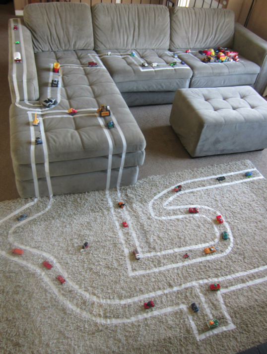 Do It Yourself Car Race Track