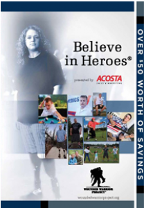 Wounded Warriors Believe in Heroes Coupons