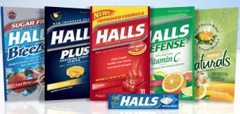 Halls Coupon
