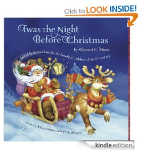 Free eBook: Twas The Night Before Christmas