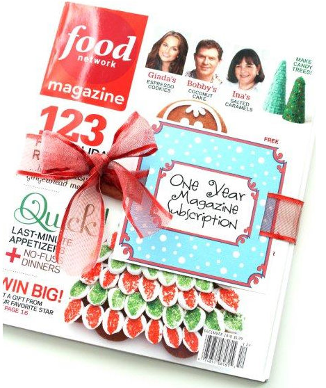 Magazine Gift Tags