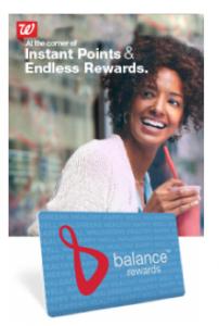 Walgreens December Balance Reward Points