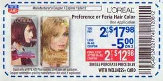 L\'Oreal Preference Coupon - New $3/1 L\'Oreal Preference ...