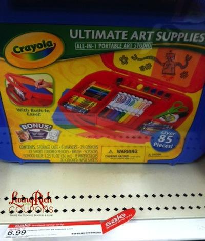 Ultimate Art Studio crayola coupon - living rich with couponsliving rich with coupons®
