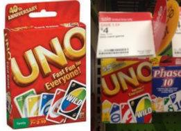 photograph regarding Uno Coupons Printable identified as UNO Coupon - $5 off UNO Card Video games at Aim -Residing Prosperous