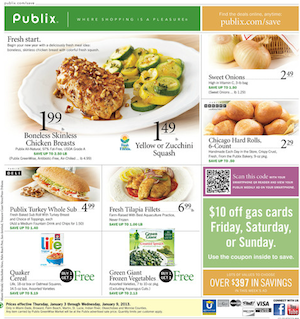 Publix Coupons & Deals for the Week of 2/6