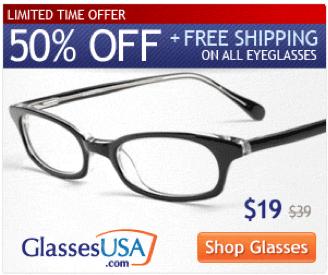 a3bdc352d17 GlassesUSA.com Coupon Code