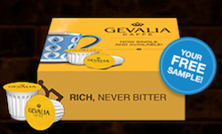 Free Sample Gevalia Coffee K-Cup!