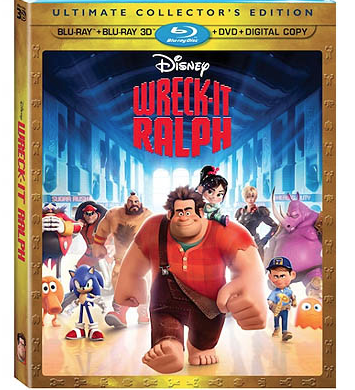 Wreck-It Ralph DVD Blu-ray Coupon