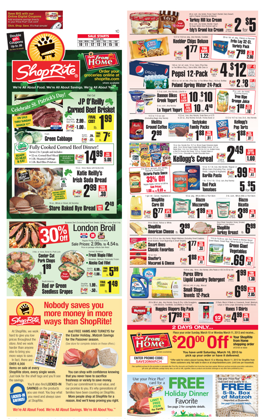 Shoprite Coupons And Deals For The Week Of 3 10living Rich