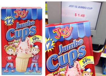 Joy cones coupon