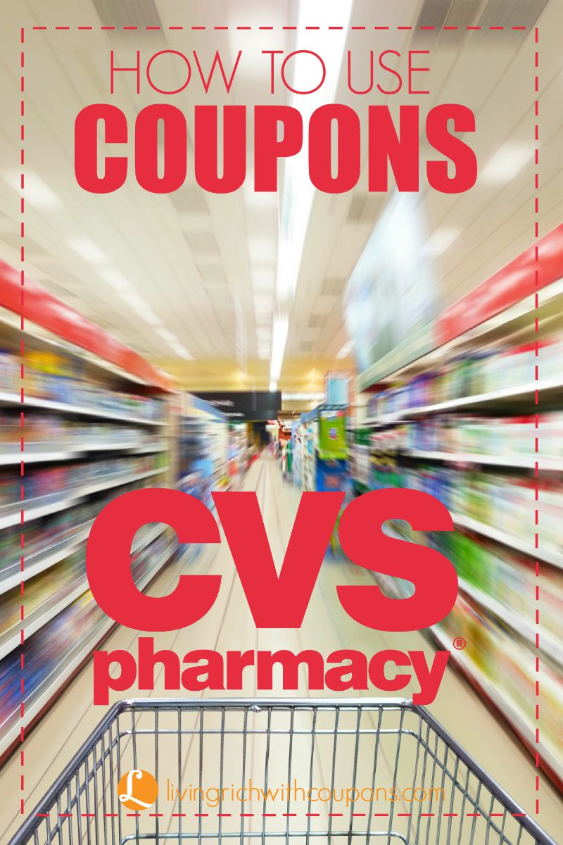 how to use coupons at CVS