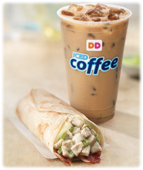 Dunkin' Donuts Wraps