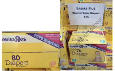 Babies R Us Diaper Coupon