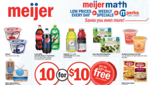 Meijer Coupon Match Ups 4/21 – 4/27 | $0.49 Crystal Light & Much More!